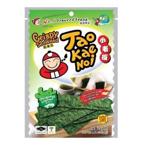 泰国小老板TAO KAE NOI 厚片脆海苔 原味 32g