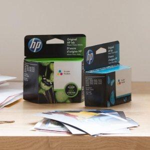 低至€13.5起 5种型号可选HP 惠普打印机墨盒专场热促 黑色、彩色、组合装全都有