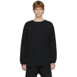 Essentials黑色针织衫