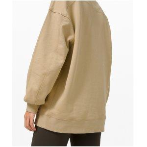 5折起Lululemon 卫衣折扣专场 寒流来袭 舒适又保暖