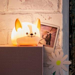 可爱柯基造型灯