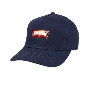 现价$6.34(原价$15) 凑单好物白菜价:Levi's 男士LOGO鸭舌帽特价