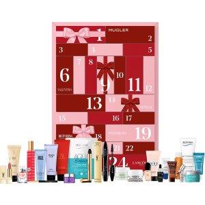 Lancome彩妆圣诞日历