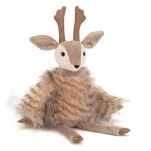 7折+最高立减$250 封面大号驯鹿$35新春独家:Jellycat 驯鹿、圣诞老人等玩偶优惠