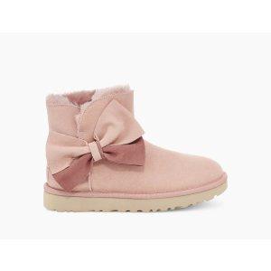 UGG Australia蝴蝶结短靴(多色可选)