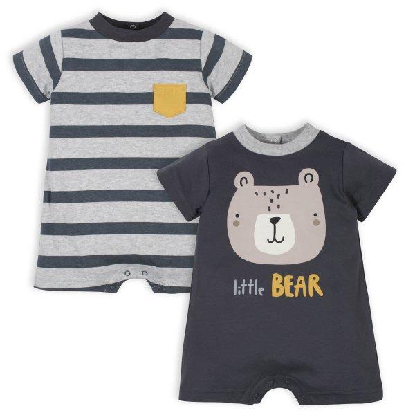 男婴有机棉连体服