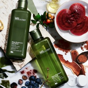 $20 off $45 With MEGA-MUSHROOM RELIEF & RESILIENCE SOOTHING TREATMENT LOTION Purchase+ free Drink Up Intensive Overnight mask @ Origins