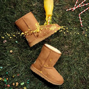 低至5折 雪地靴$70起UGG精选鞋履热卖,$40收粉粉少女心毛拖鞋