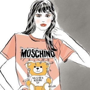 Up to 50% OffT-shirt Sale @ Moschino
