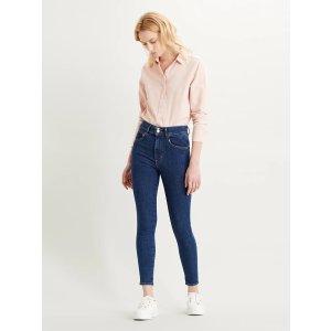 Levi's紧腿牛仔裤