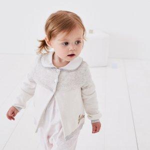 低至5折+ 额外8折折扣升级:The White Company 儿童服饰年中大促