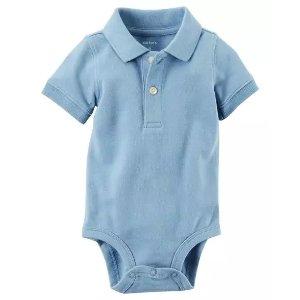 Carter'sPique Polo Bodysuit