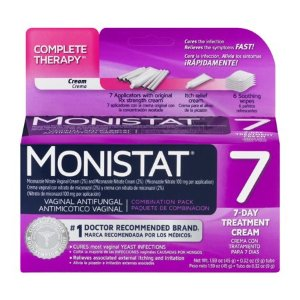 Monistat 7 Vaginal Antifungal 7-Day Treatment Cream Complete Therapy - Walmart.com