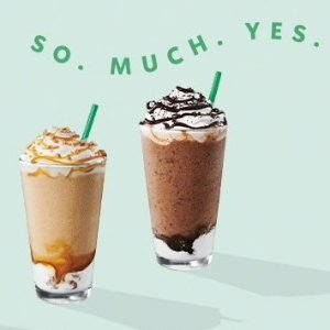 Buy 1 get 1 FreeHappy Hour on 6.20 @ Starbucks