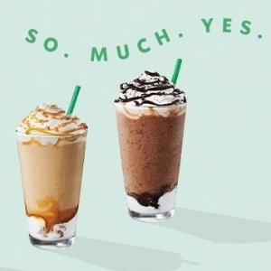 Frappuccino Espresso 买一送一星巴克 Happy Hour 咖啡6/20优惠限时活动