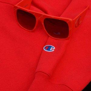指定品牌2件7.5折+积分返现Myer 红色系专场 穿TH、Champion等红色潮服过新年