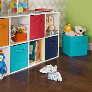 墨绿色款 $6.68(原价$19.97)ClosetMaid 彩色收纳盒, 家居整理好帮手
