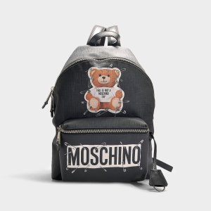 MoschinoToy Safety Pin 小熊背包