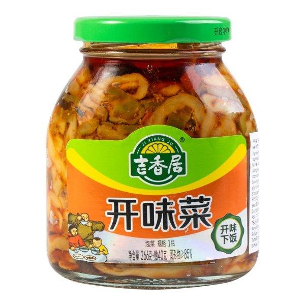 吉香居 开味菜 开味下饭 306g