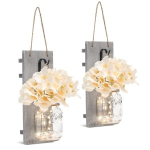GBtroo Rustic Wall Sconces
