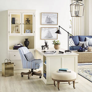 低至8折 + 免邮Ballard Designs 现代欧式风格家具大促
