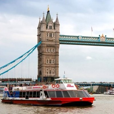 8.9折 现价£57(原价£64)伦敦泰晤士河游轮套餐 观河岸风光享双人午餐