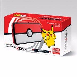现价£129.99(原价£139.99)New Nintendo 2DS XL 精灵球限量版
