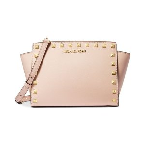 Selma Leather Stud Crossbody