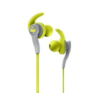 $23.95(原价$59.95)Monster 防汗入耳式运动耳机 健身房里最靓丽的仔