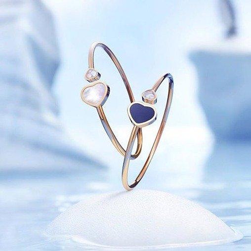 爱心钻石戒指