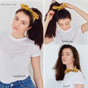 可爱印花发带10件套 每件均价$0.46 每天换着搭配不重样