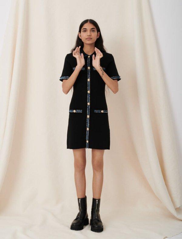 小香风连衣裙