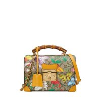 Gucci Padlock Small Flora GG 花卉盒子包