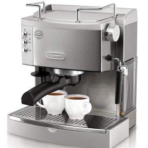 $143.99DeLonghi EC702 泵压意式不锈钢浓缩咖啡机