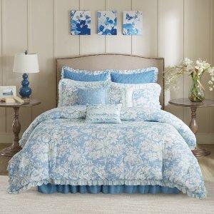 $29Sophie 9 Piece Seersucker Comforter Set