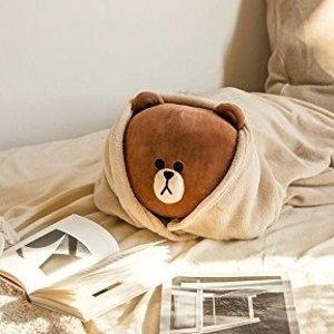 收Airpods保护套Line Friends 布朗熊周边好物热卖 萌到爆表无法抗拒