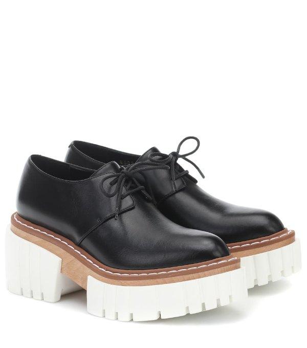 Elyse 厚底德比鞋