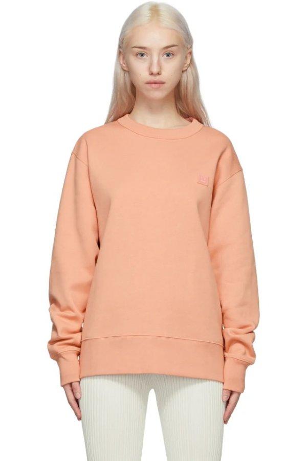 蜜桃橘卫衣