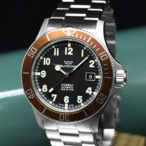 $309 (原價$1530)獨家:GLYCINE Combat 潛水風機械男表,CK 極簡$39