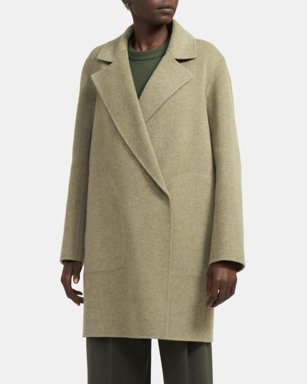 克什米尔羊毛大衣