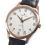 $6445ZENITH Captain Central Seconds Boutique Automatic Men's Watch 18.2021.670/38.C498