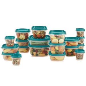 $9.99Rubbermaid Easy Find Lids Assorted Storage Container Set 1 set Clear
