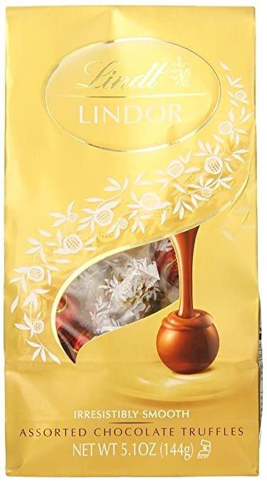Lindor 什锦口味巧克力松露 5.1oz 6包