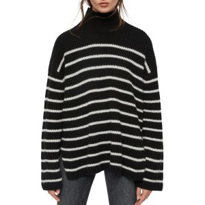 AllSaints条纹针织衫