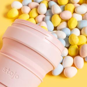£9.99收封面裸粉色 多款可选Stojo 美国网红咖啡杯热 折叠压缩放进你的口袋