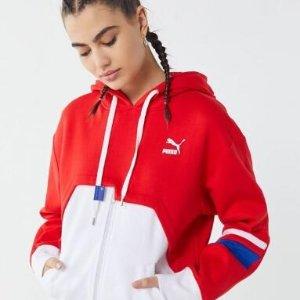 Puma X Ader Error Zip-Up Hoodie Sweatshirt