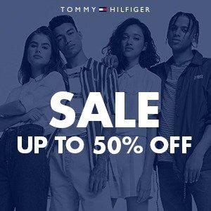 低至5折 £25收Logo T恤Tommy Hilfiger官网 换季大促开启 潮酷休闲两相宜