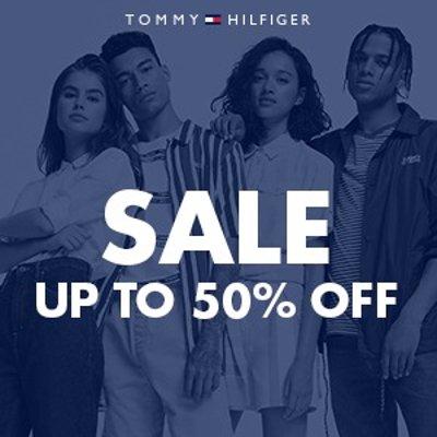 低至5折 £25收Logo T恤Tommy Hilfiger官网 夏日大促开启 潮酷休闲两相宜