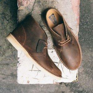 低至5折 + 额外6折Clarks 男女款鞋靴优惠