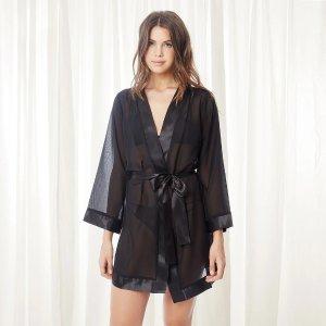 Bluebella黑色睡袍
